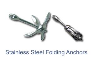 Blue Star SS Folding Anchors