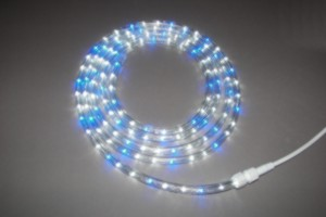 LumiSea® Night Times 2 blue / white ropelight