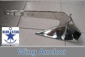 Blue Star Wing Anchors